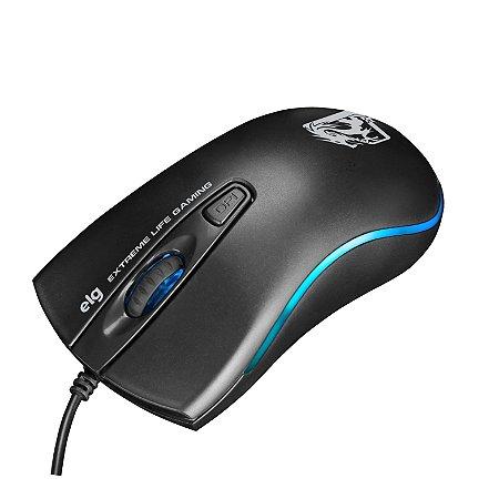 Mouse com Fio Gamer DRAGON WAR 2400DPI MGDW ELG