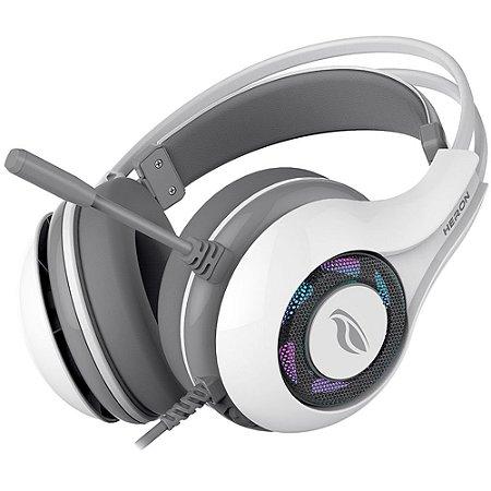 Fone de Ouvido Gamer Usb 7.1 Branco Heron PH-G701 C3tech
