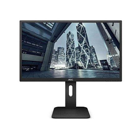 Monitor Led 21.5´ Full HD, HDMI/DisplayPort, 2 ms, Altura Ajustável - 22P1E Aoc