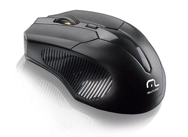 Mouse Sem Fio USB 2.4ghz Preto MO221 Multilaser