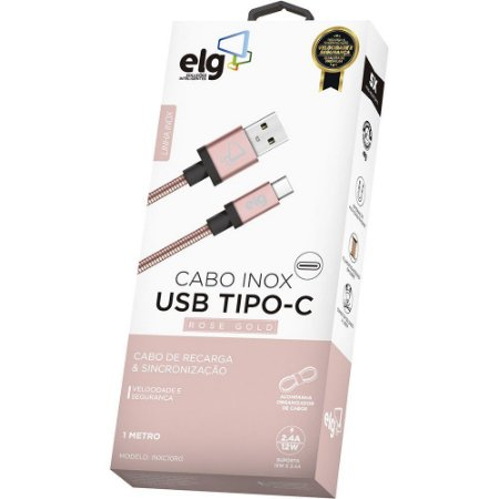 Cabo de Celular Usb Type-C INXC10RG ELG