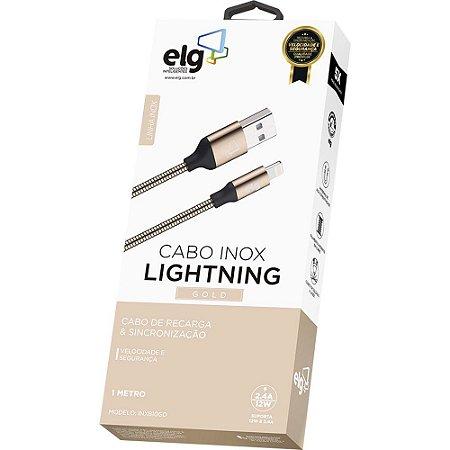 Cabo de Celular iPhone Lighting INX810GD Elg