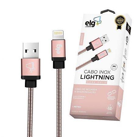 Cabo de Celular Iphone Lighting INX810RG ELG