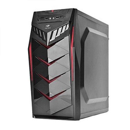 Gabinete Desktop Gamer MTG70 1baia Sem Fonte C3tech