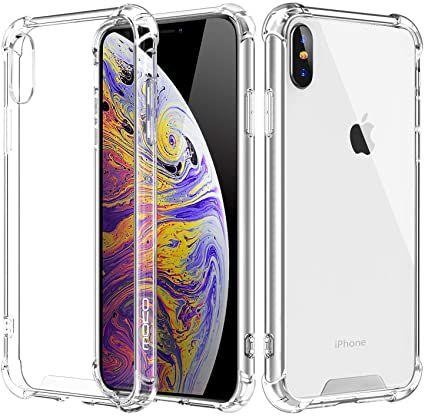 Capa iPhone X Antishock Transparente