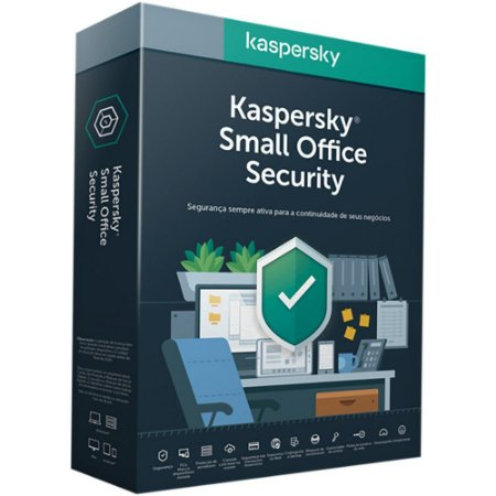 Kaspersky Small Office Security - 10 Usuários /  10 Mobile / 10 Desktop / 1 Servidor - 1 ano