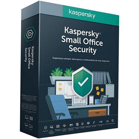 Kaspersky Small Office Security - 5 Usuários / 5 Mobile / 5 Desktop / 1 Servidor - 1 ano