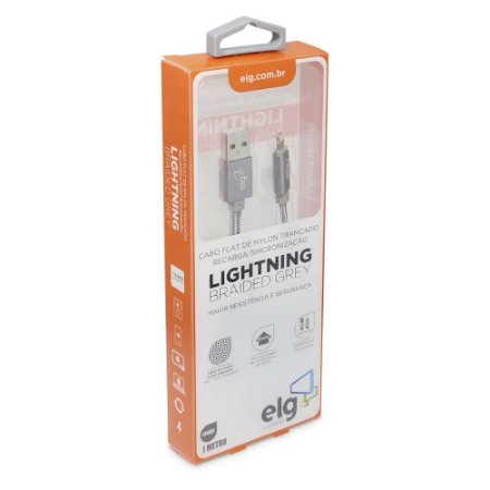 Cabo de Celular Iphone Lightning L810BY ELG