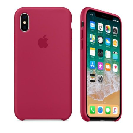 Capa iPhone X Silicone Silicone Alta Qualidade