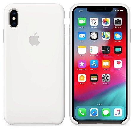 Capa iPhone Xs Max Silicone Silicone Alta Qualidade