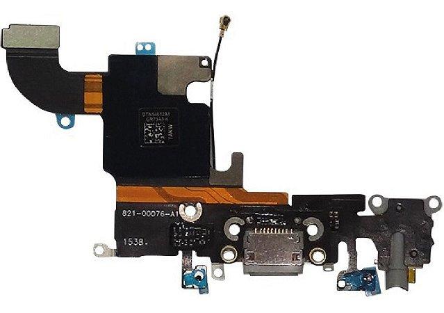 Flex Conector Carga Dock Usb Microfone Iphone 6s