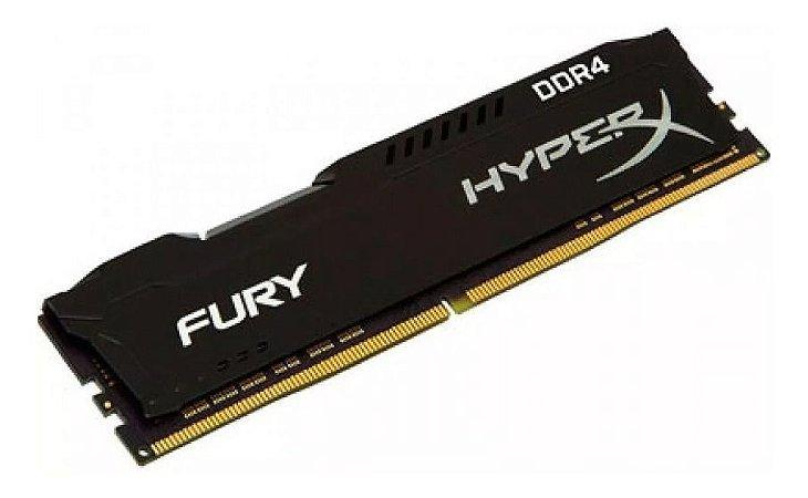 Memoria Desktop 16gb DDR4 2666Mhz HX426C16FB316 Black Gamer Hyperx Black