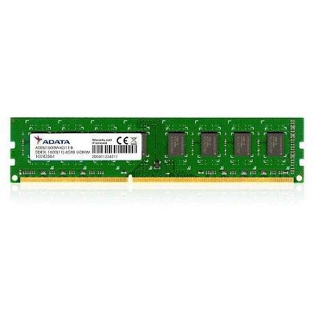 Memoria Desktop 4gb Ddr3 1600mhz ADDU1600W4G11-B Adata