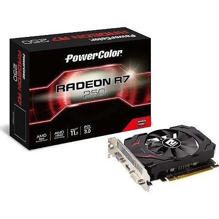 Placa de Video Radeon 2gb 128bit Ddr5 R7 250 Power Color
