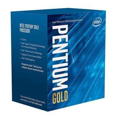 Processador Intel Pentium G5400 1151 8geração 4mb 3.7ghz BX80684G5400