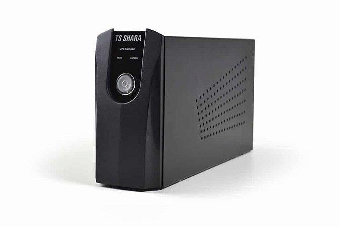 Nobreak Compact 374 600va 390w Grafite Ts Shara