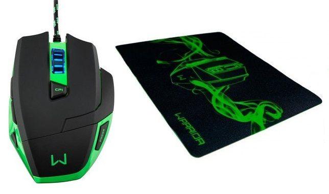 Mouse com Fio USB Gamer Warrior Marco 2400dpi MO245 Multilaser