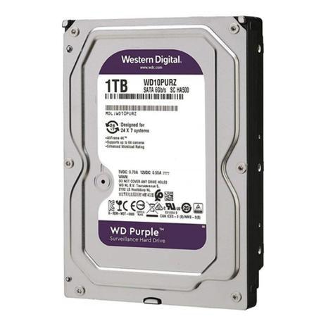 Hd Desktop e Cftv Purple Interno Sata 3 1tb WD10PURZ Wd