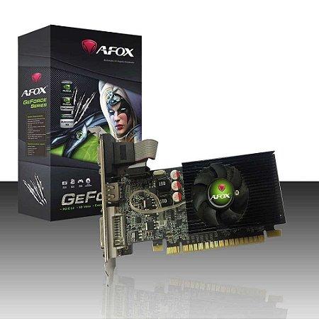 Placa de Video Geforce G210 1gb 64bit Ddr3 Pcie AF210-1024D3L8 Afox