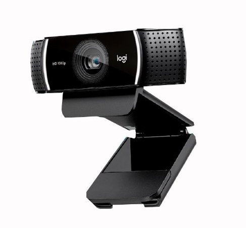 Web Cam Usb HD 1080P C922 Logitech