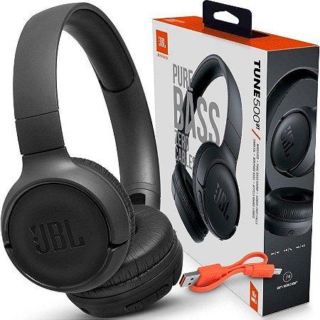 Fone de Ouvido Bluetooth TUNE500BTBLK Jbl