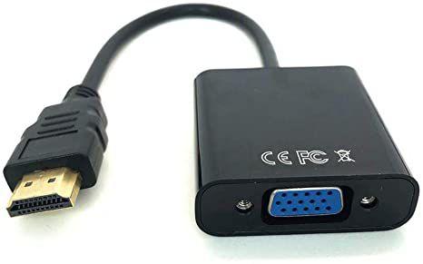 Conversor de Video Hdmi x Vga sem aúdio ADP002 Plus Cable