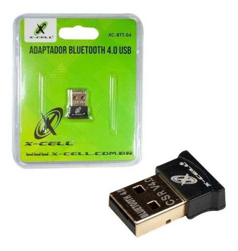 Mini Adaptador Bluetooth USB 4.0 XC-BTT-04 X-Cell