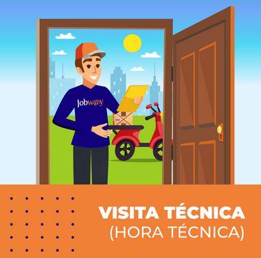 Visita Técnica Presencial - Hora Técnica (S/Contrato)