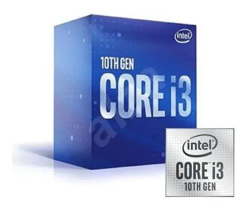 Processador Intel I3-10100 Comet Lake 3.60 ghz (UP TO 4.30 GHZ) 6MB - BX8070110100