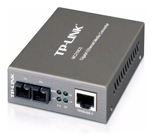Conversor de Midia Gigabit MC210CS Tp-link