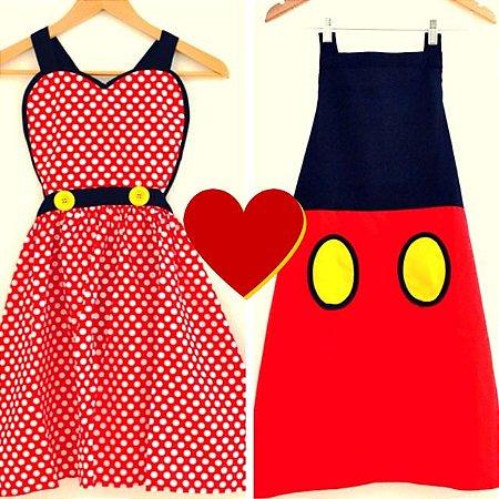 Combo Namorados - Minnie e Mickey