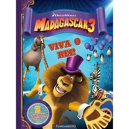 Livro Madagascar 3 - Viva o Rei (DreamWorks)