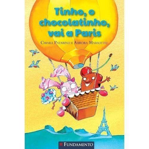 Livro Tinho, O chocolatinho, Vai a Paris