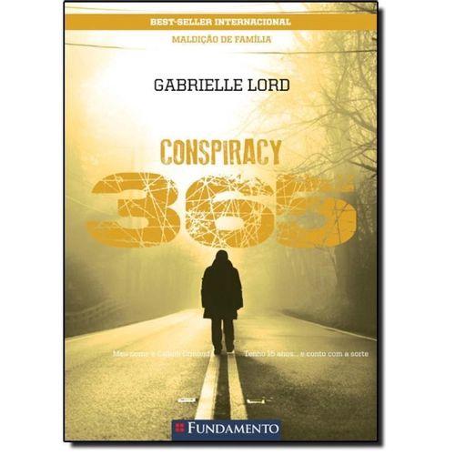 Livro Conspiracy 365: Maldição De Família -Livro 7 Julho