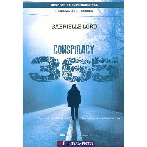 Livro Conspiracy 365: O Enigma dos Desenhos - Livro 1 Janeiro