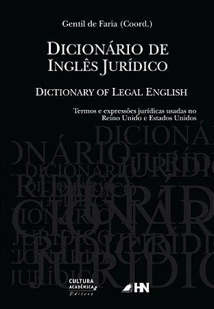 Dicionário de Inglês Jurídico