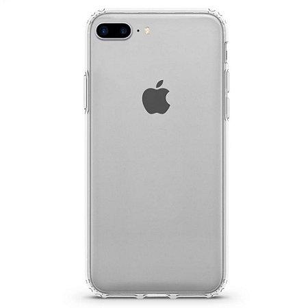 Capa de Proteção para Iphone 7 Plus | 8 Plus Impactor Clear Transparente Proteção Militar - Customic