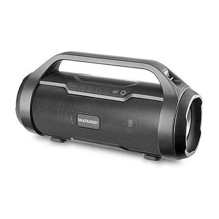 Caixa de Som Super Bazooka Boombox TWS 180W Bluetooth/AUX/SD/USB/FM SP339 - Multilaser