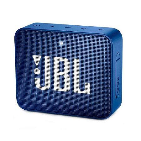 Caixa de Som GO 2 Portátil Bluetooth/P2 Blue 3W Rms (Harman do Brasil) - JBL