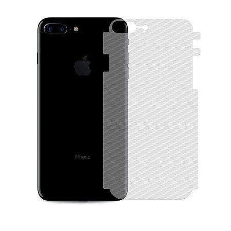 Película Traseira Fibra de Carbono para Iphone 7 Plus / 8 Plus - Gshield
