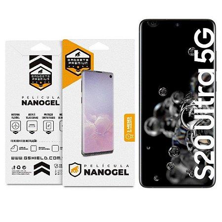 Película Nano Gel Dupla para Samsung Galaxy S20 Ultra - Gshield