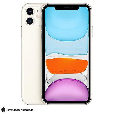 Celular iPhone 11 Branco 128GB Desbloqueado - MWM22BR/A - Apple