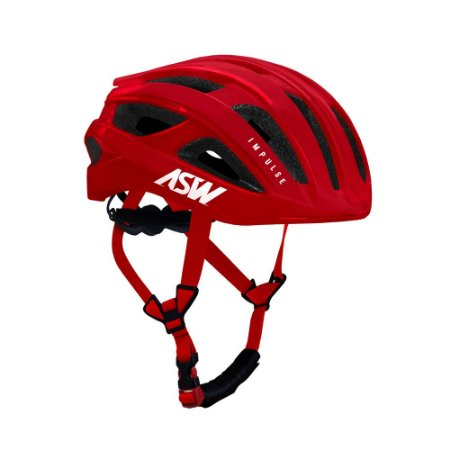Capacete ASW Bike Impulse Vermelho