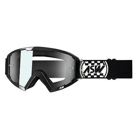 Óculos ASW A2 Check Preto/Branco