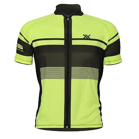 Camisa Mattos Racing Bike Track II Amarelo Fluor