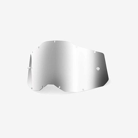 Lente 100% RC2/AC2/ST2 - Prata Espelhada