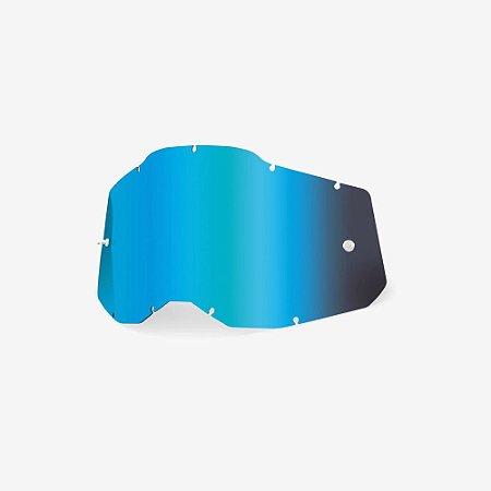 Lente 100% RC2/AC2/ST2 - Azul Espelhada