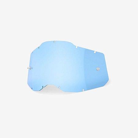 Lente 100% RC2/AC2/ST2 - Azul Transparente