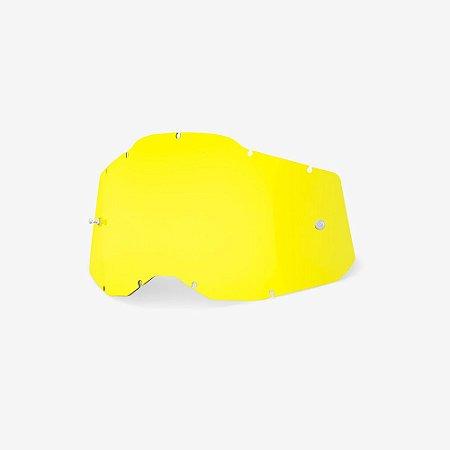 Lente 100% RC2/AC2/ST2 - Amarelo Tranparente