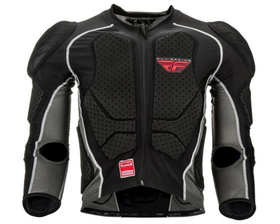 Colete Fly Barricade Suit Preto